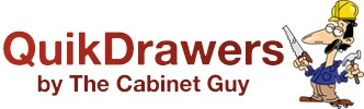 QuikDrawers by The Cabinet Guy Logo
