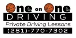 One on One Driving  Logo