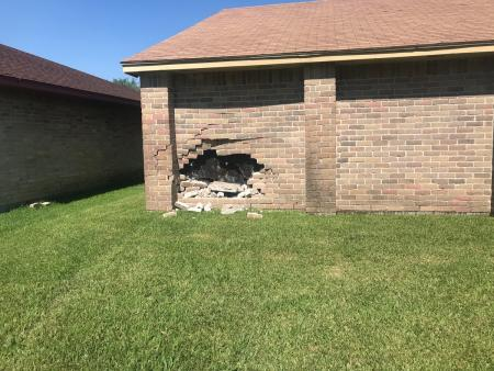 Driver Crashes Into Humble Home