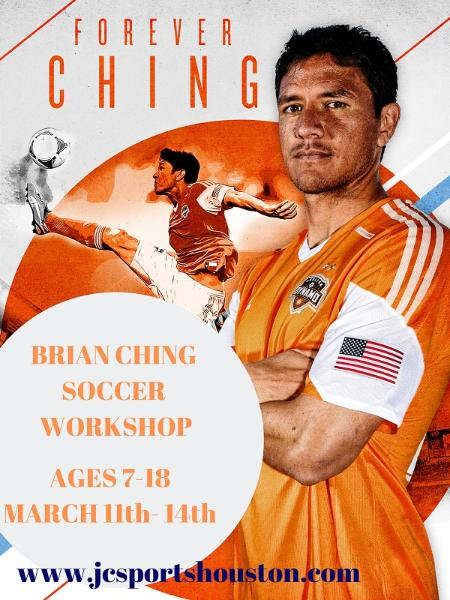 "Brian Ching ""Path to Pro"" Soccer Spring Break Camp"